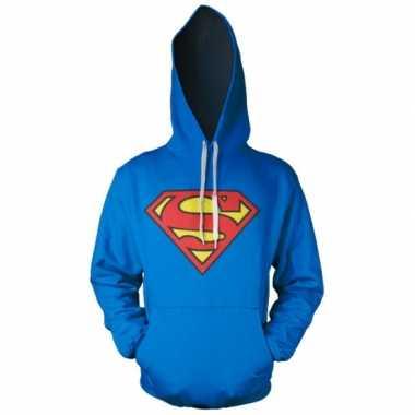 Capuchon trui superman logo