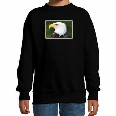 Dieren trui / trui arenden foto zwart kinderen