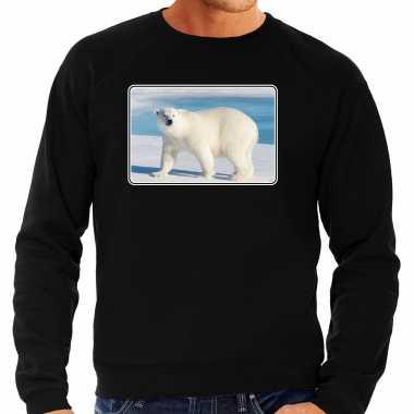Dieren trui / trui ijsberen foto zwart heren