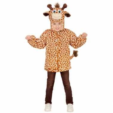 Giraffe verkleed trui kinderen