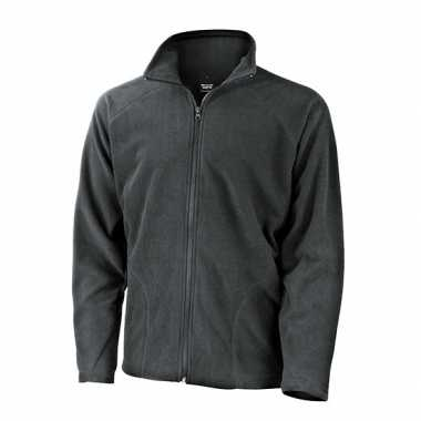 Grijs fleece trui viggo heren