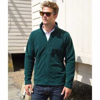 Groen fleece trui viggo heren