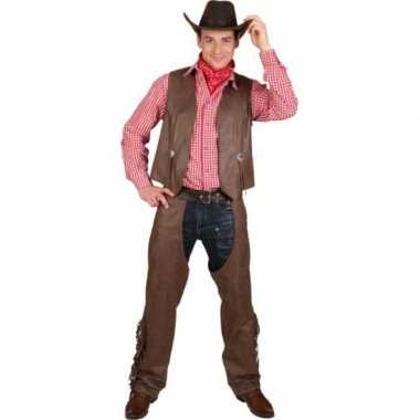 Grote maat cowboy trui chaps
