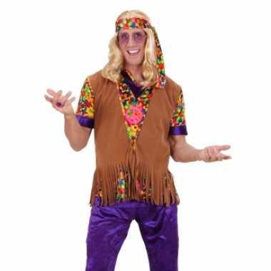 Hippie trui franjes hoofdband heren