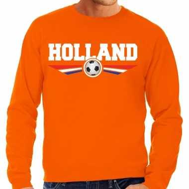 Holland landen / voetbal trui oranje heren