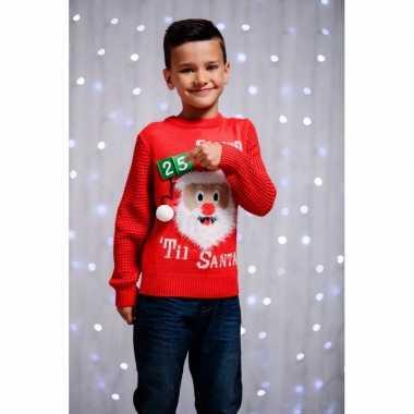 Kersttrui kinderen d aftel kalender