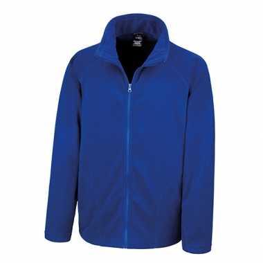 Kobalt blauw fleece trui viggo heren