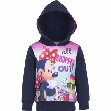 Minnie mouse trui navy voor meisjes