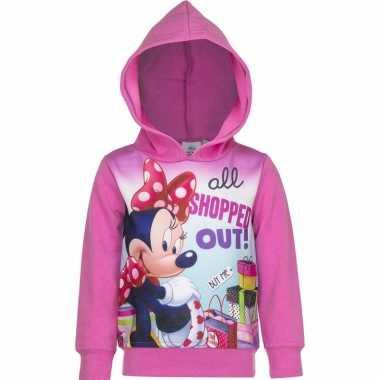 Minnie mouse trui roze voor meisjes