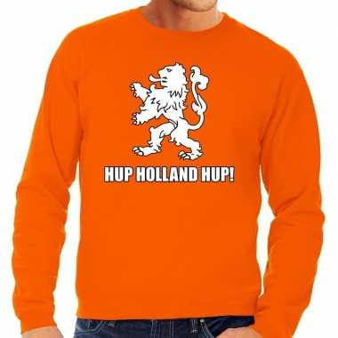 Nederland supporter trui hup holland hup oranje heren