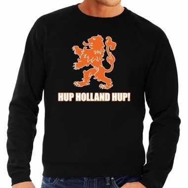 Nederland supporter trui hup holland hup zwart heren