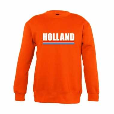 Oranje holland supporter trui kinderen