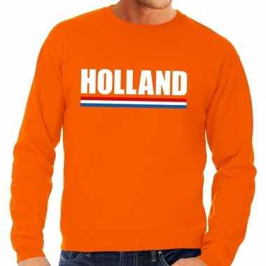Oranje holland supporter trui volwassenen