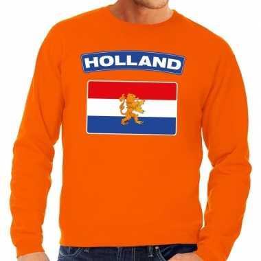 Oranje holland vlag trui volwassenen