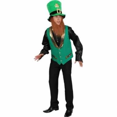 St patricks day gnoom trui heren