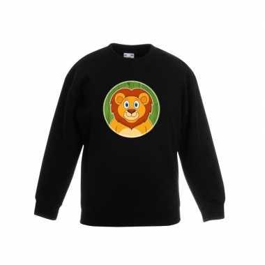 Trui leeuw zwart kinderen