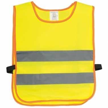 Veiligheidstrui fluorescerend geel kinderen
