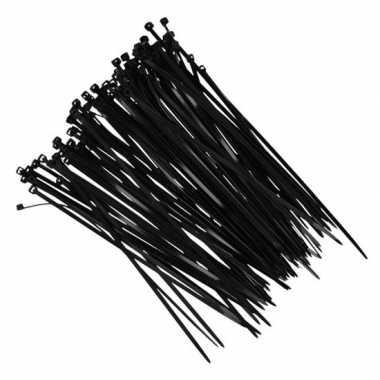 X kerstverlichting ophang/betruiiging materiaal tiewraps zwar