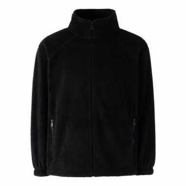 Zwart fleece trui jongens