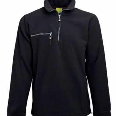 Zwarte fleece trui volwassenen