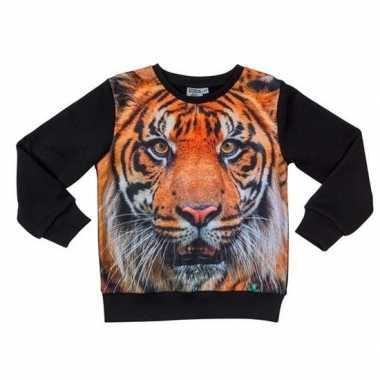 Zwarte trui tijger kinderen