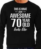 Awesome year jaar cadeau trui zwart heren 10195910