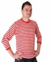 Dorus trui rood wit heren