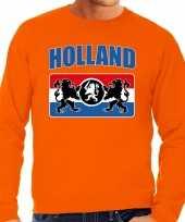 Grote maten oranje trui trui holland nederland supporter een nederlands wapen ek wk heren