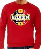 Have fear belgium is here trui belgie supporters rood heren