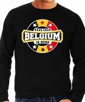 Have fear belgium is here trui belgie supporters zwart heren