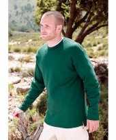 Heren trui basic open onderboord