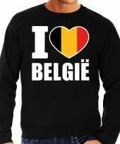 I love belgie trui trui zwart heren