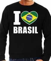 I love brasil trui trui zwart heren