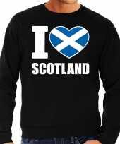 I love scotland trui trui zwart heren