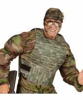 Kogelvrij camouflage trui