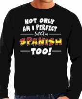 Not only perfect spanish spanje trui zwart heren