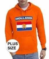 Oranje holland vlag grote maten trui trui heren