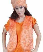 Oranje truije nep bont