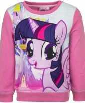 Roze my little pony trui voor meisjes