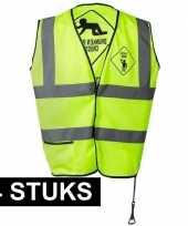 X geel veiligheidstruijes drunken people heren 10153834