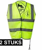 X geel veiligheidstruijes drunken people heren 10153837
