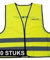 X veiligheidstrui dunlop geel volwassenen 10165145
