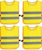 X veiligheidstruien fluorescerend geel kinderen 10171180