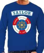 Zeeman sailor verkleed trui blauw heren